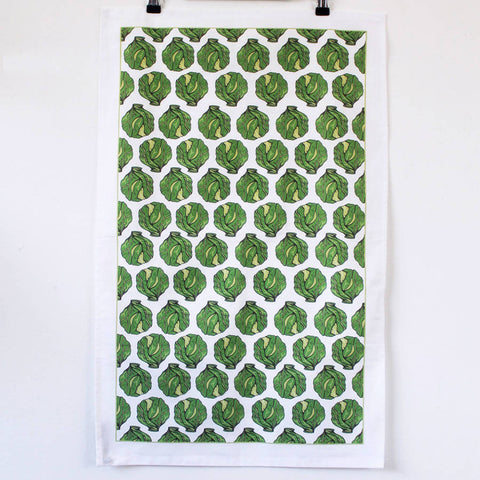Christmas Sprout Tea Towel - Feeling Quirky