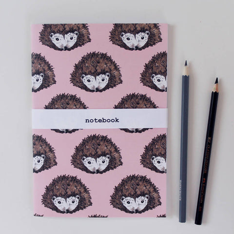 Hettie Hedgehog Notebook - Feeling Quirky