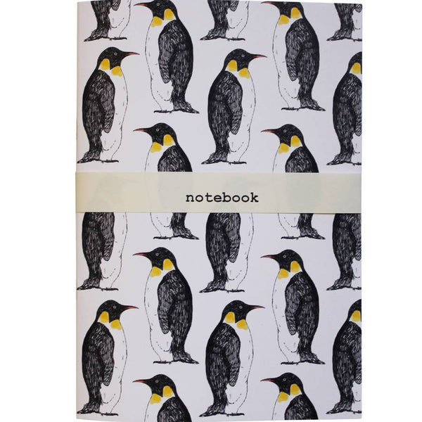 Penguin Party Notebook - Feeling Quirky