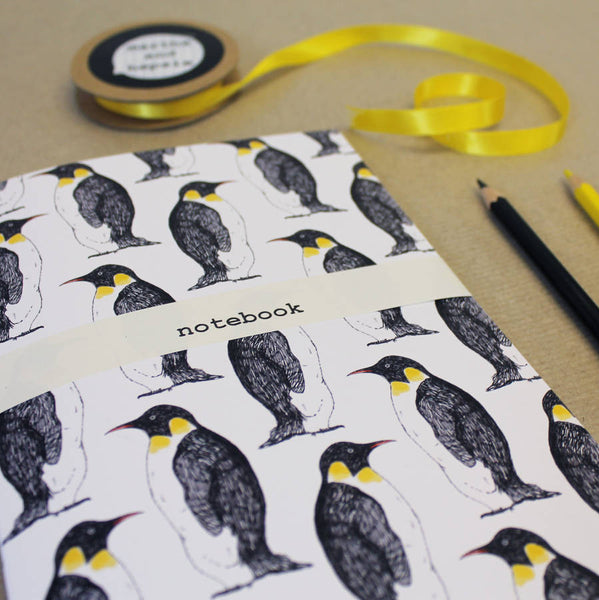 Penguin Party Notebook