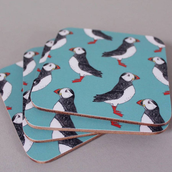 Puffin Billy Coaster Set
