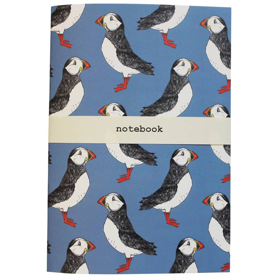 Puffin Billy Notebook - Feeling Quirky