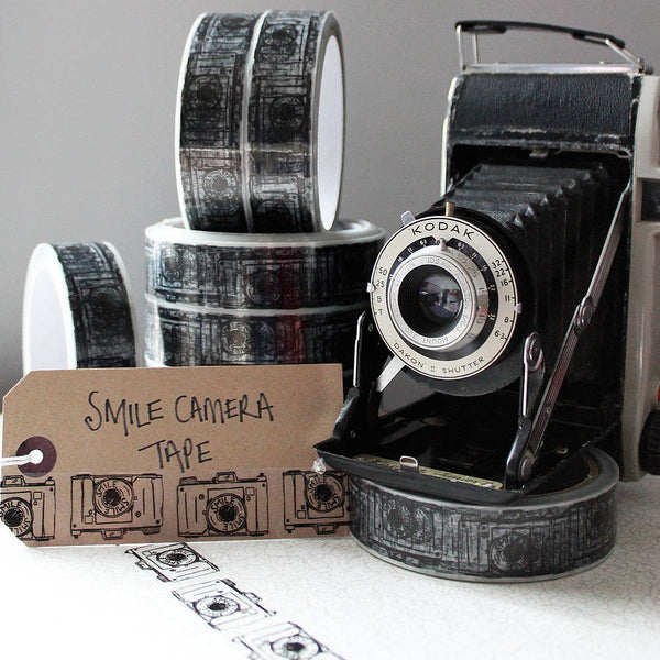 Smile Camera Gift Tape - Feeling Quirky