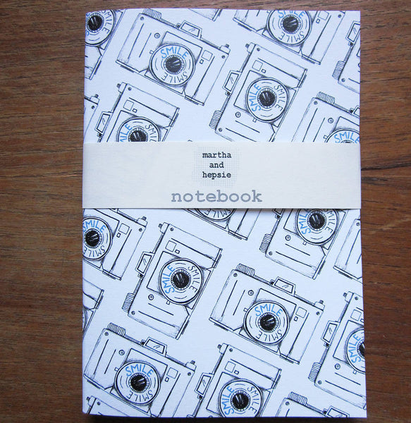 Smile Camera Notebook - Feeling Quirky