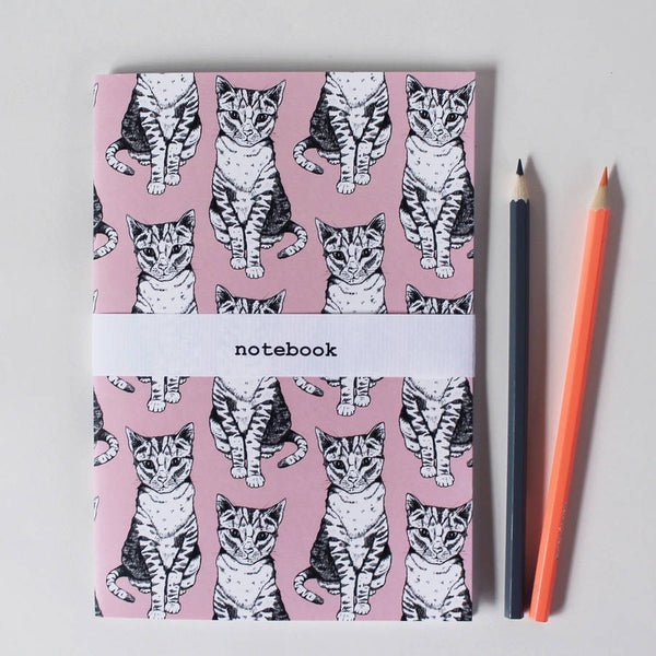 Tally Tabby Cat Notebook