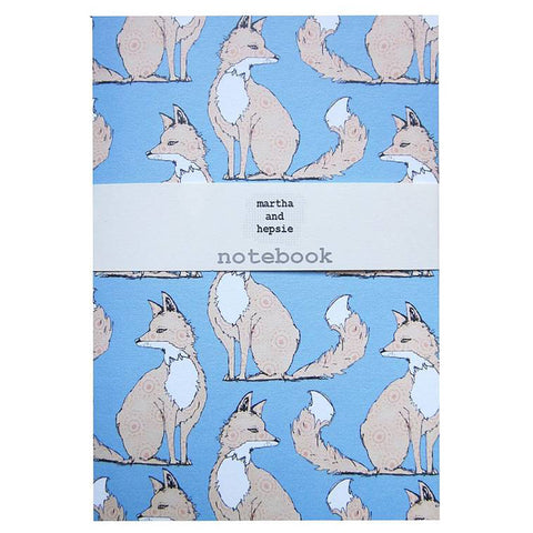 Urban Fox Notebook