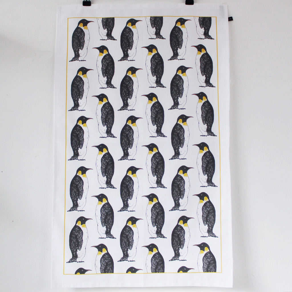 Penguin Party Tea Towel - Feeling Quirky