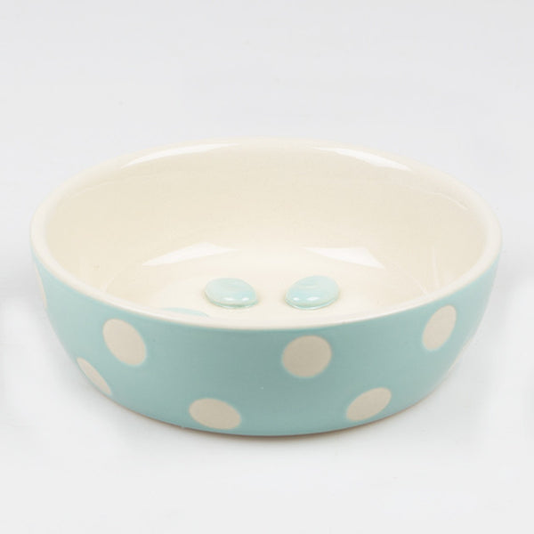 SMALL PAW PRINT PET FOOD BOWL