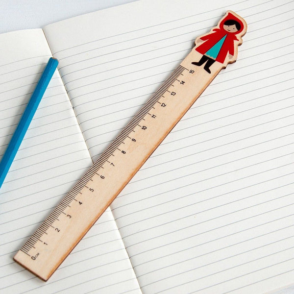 Red Riding Hood Wooden Ruler