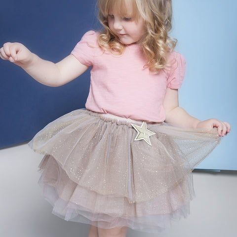 Beautiful Champagne Gold Tutu Skirt