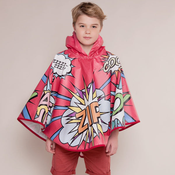 Top Of The Pops Waterproof Poncho