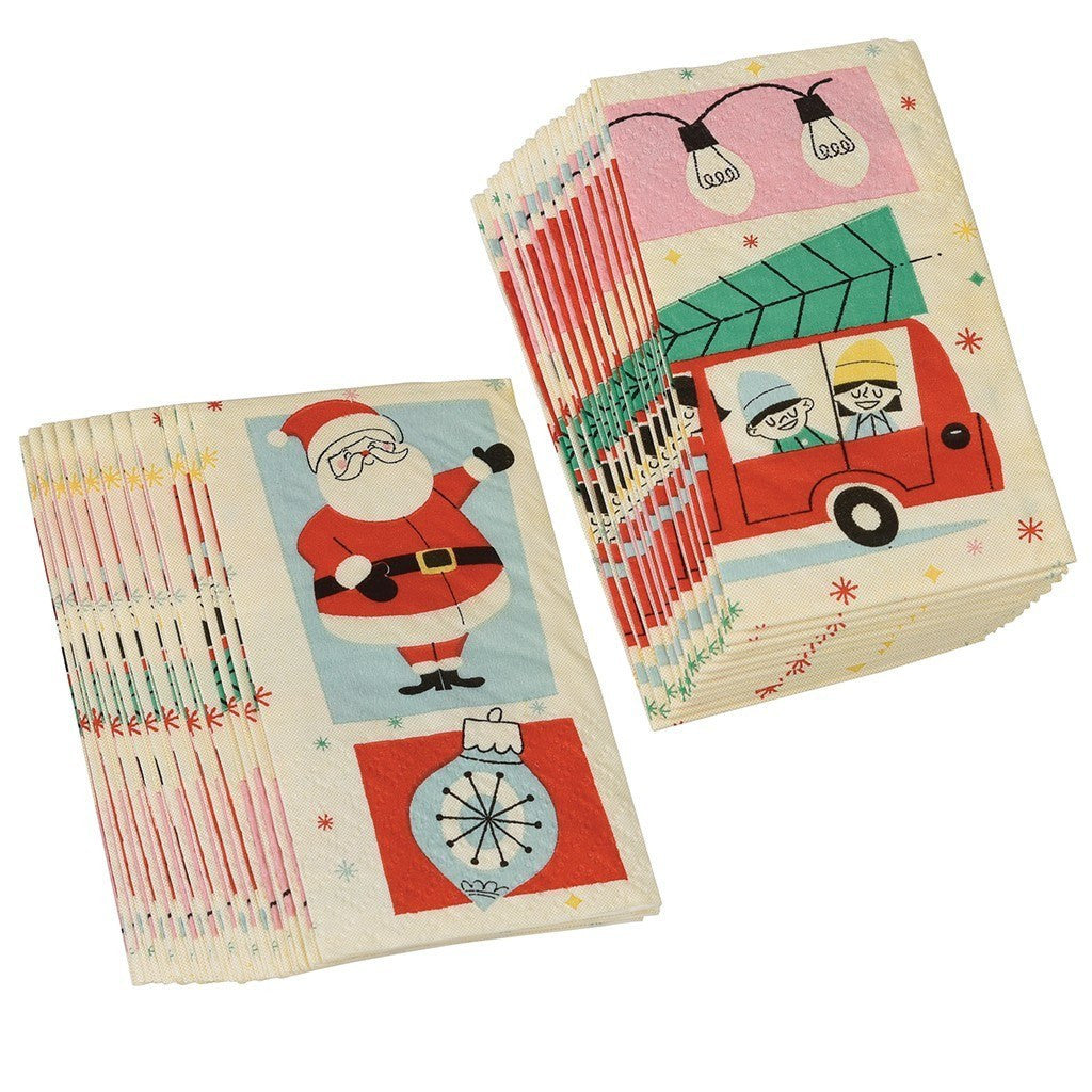 Festive Family Tissues - Feeling Quirky