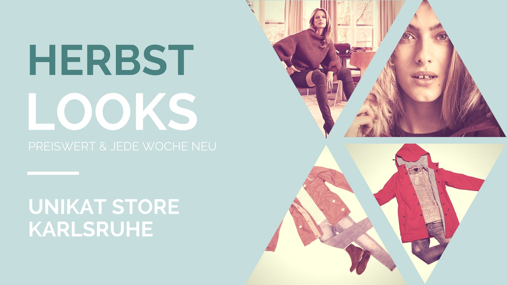 UNiKAT Store Karlsruhe > Winter Mode Trends 2017