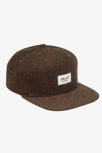 Reell Tweed 6-Panel Cap, Farbe: Herringbone Brown