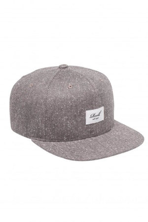 Reell Speckled 6-Panel Cap, Farbe: Brown