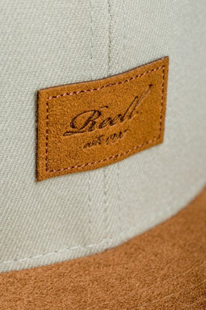 Reell Suede 6-Panel Cap, Farbe: Sea Glass
