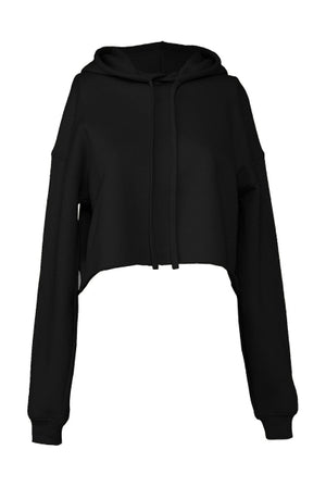 Cropped Fleece Hoody für Damen