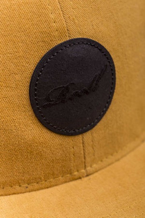 Reell Flat 6-Panel Cap, Farbe: ocre