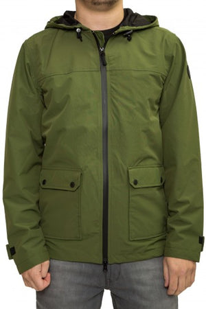 Regenjacke, All Season Jacket, navy & olive