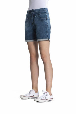 Jeans Shorts für Damen, Anna, blue