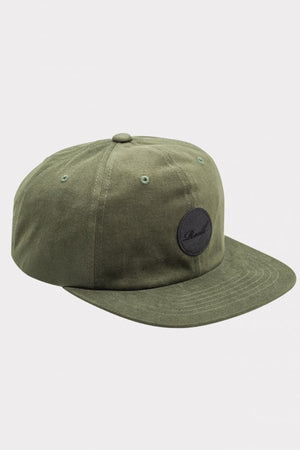 Reell Flat 6-Panel Cap, Farbe: olive