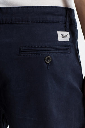Flex Chino Shorts aus Baumwolle, navy