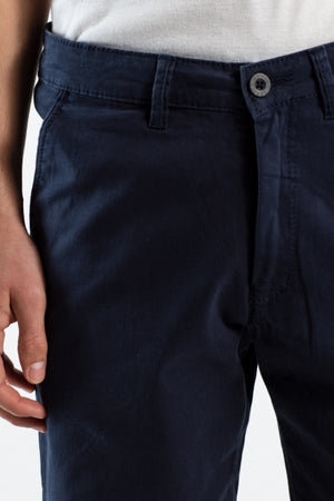 Reell Flex Grip Chino Shorts, navy