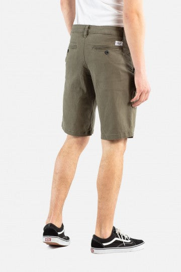 Flex Grip Chino Shorts, Baumwolle, olive