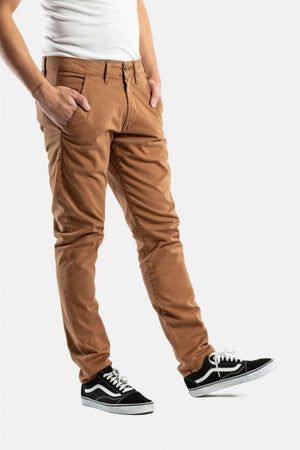 Reell Flex Tapered Herren Chino Hose in Farbe: ocre