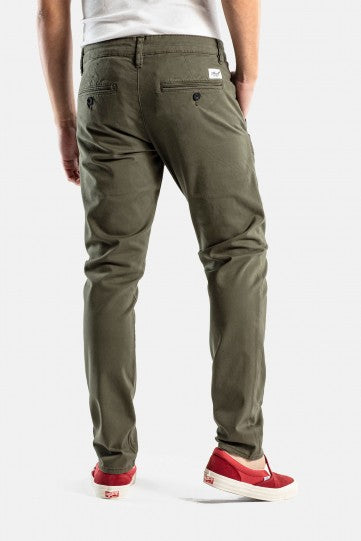 Flex Tapered Chino Hose, olive