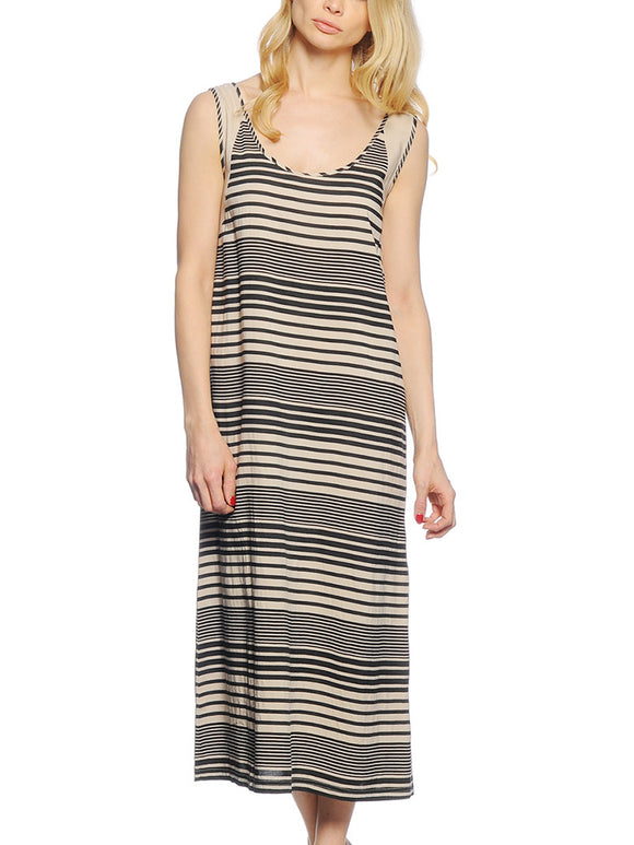 Kleid für Damen, Farbe: striped, Modell: Fransa Sulane 1 Dress