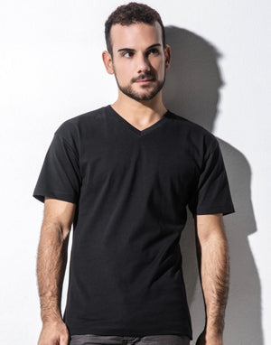 T-Shirt für Herren, James Men's Organic V-Neck