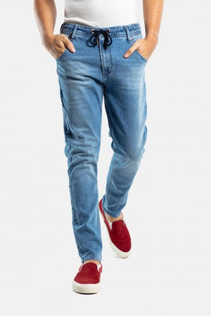 Jogger Jeans Pant, light blue washed