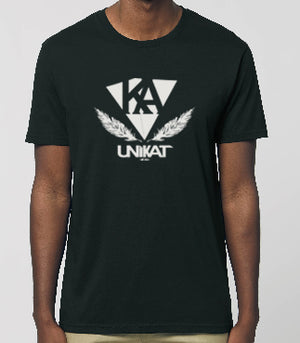 UNiKAT-Feather-Shirt, unisex