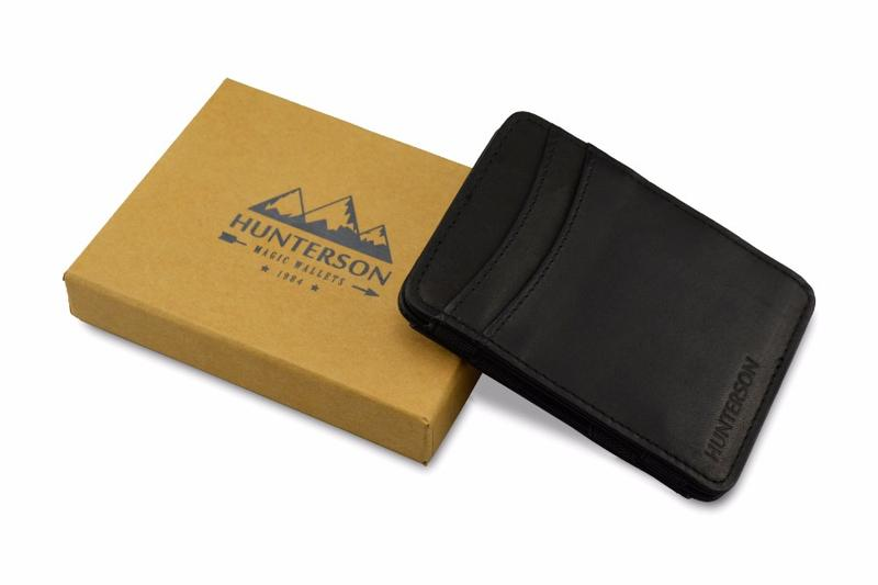 Hunterson Magic-Wallet RFID Classic Collection (ohne Münzfach) in verschiedenen Farben