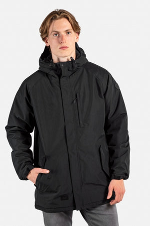 Padded Field Jacket 2, dark grey/black