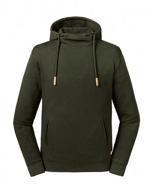 Kapuzensweatshirt unisex, organische Baumwolle, Pure Organic High Collar Hooded Sweat