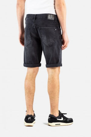 Rafter Jeans Shorts, Black Denim