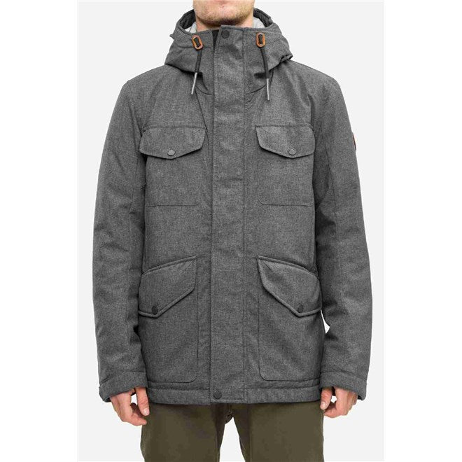 Field Jacket, grey-mel
