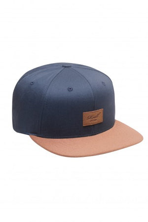 Reell Suede 6-Panel Cap, Farbe: navy