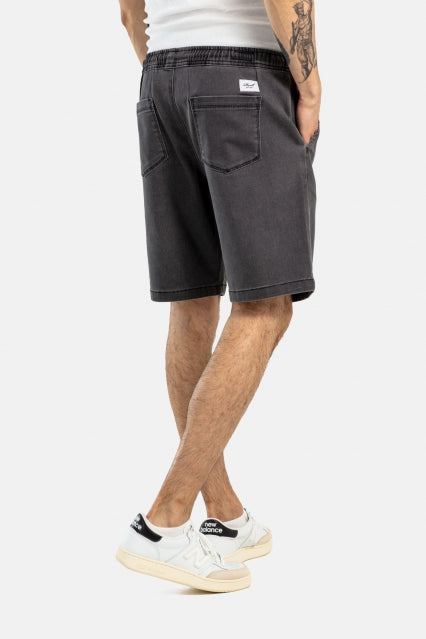Easy Shorts aus Baumwolle, Grey Weave