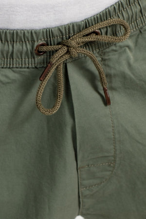 Easy Shorts LW, Baumwolle, Light Olive