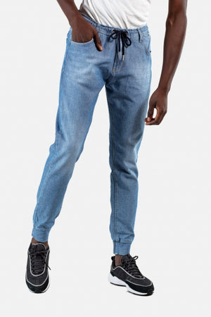 Reflex Jeans Pant für Herren, Light Blue Washed