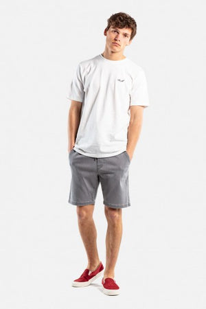 Easy Shorts aus Baumwolle, light grey denim