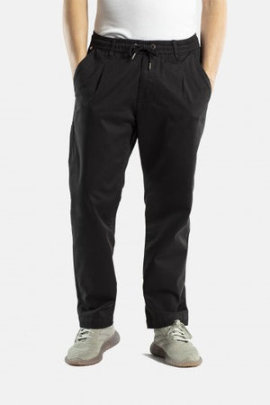 Reflex Loose Chinohose, Straight Fit, Superior Dark & Black