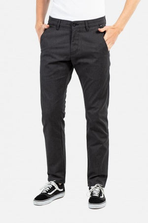 Regular Flex Chino Hose gerader Schnitt black Stripe