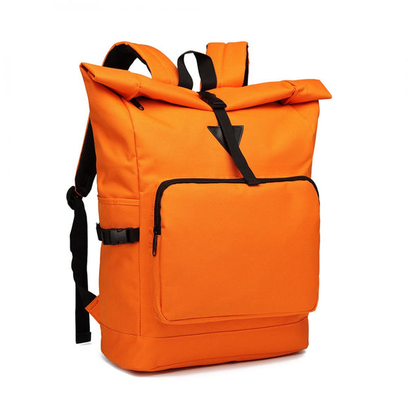 Rucksack Roll-Top OXFORD, Farbe: orange