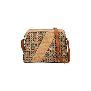 Kork-Optik Crossbody Bag (25cm)