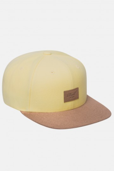 Reell Flat 6-Panel Cap, light yellow