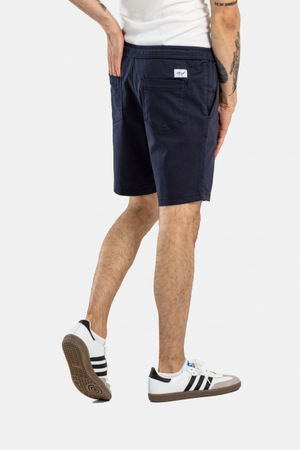 Easy Short, Baumwolle, petrol & navy